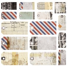 7 Dots Studio - Air Mail - Tags