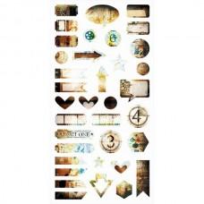 7 Dots Studio - Hazy Days - Die-cut Elements