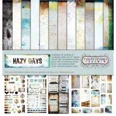 7 Dots Studio - Hazy Days - Collection Kit
