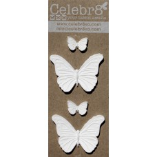 Celebr8 - Resin Embellishment - Butterflies