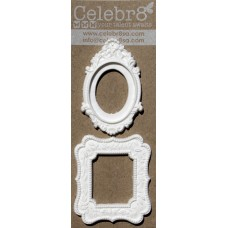 Celebr8 - Resin Embellishment - Frames