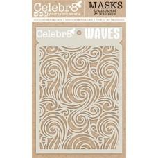 Celebr8 - Stencil - Waves
