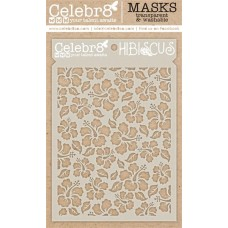 Celebr8 - Stencil - Hibiscus