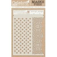 Celebr8 - Stencil - Seamless Borders