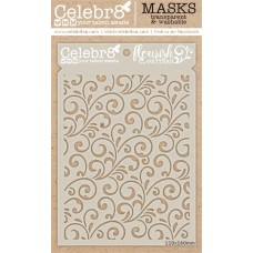 Celebr8 - Stencil - Flourish Pattern