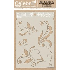 Celebr8 - Stencil - Swirls