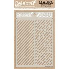 Celebr8 - Stencil - Seamless Stripes