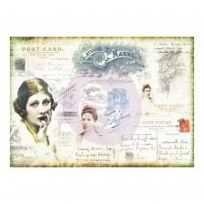 Prima - Finnabair Tissue Paper - Carte Postale