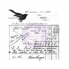 Prima - Clear Stamp - Old Receipt