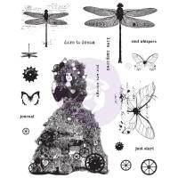 Prima - Cling Stamps - Dare To Dream