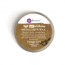 Prima - Art Alchemy - Metallique Wax - Vintage Gold