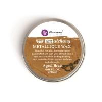 Prima - Art Alchemy - Metallique Wax - Aged Brass