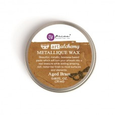 Prima - Art Alchemy - Metallique Wax - Aged Brass