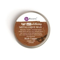 Prima - Art Alchemy - Metallique Wax - Rich Copper