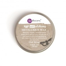 Prima - Art Alchemy - Metallique Wax - Old Silver