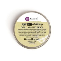 Prima - Art Alchemy - Opal Magic Wax - Green Brocade