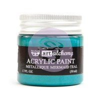 Prima - Art Alchemy - Metallique - Mermaid Teal