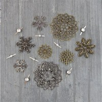 Prima - Mechanicals - Vintage Snowflakes