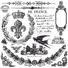 Prima - IOD Decor Stamps - Laurel