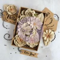 Prima - Paper Flowers - Sandstone