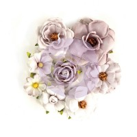 Prima - Paper Flowers - Rose Quartz