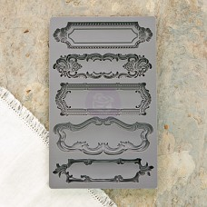 Prima - IOD Vintage Art Décor Mould - Object Labels 1