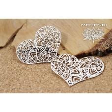 Scrapiniec - Mehendi - Lace Hearts