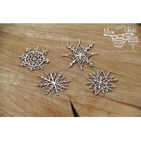 Scrapiniec - Mon MERRY Cheri - Snowflakes