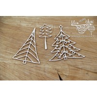Scrapiniec - Mon MERRY Cheri - Christmas Trees