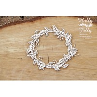 Scrapiniec - Holly Jolly - Small Wreath