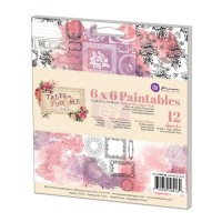 Prima - Tales of You & Me - Paintable Pad