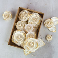 Prima - Paper Flowers - Gold Kiss