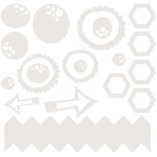 7 Dots Studio - Cotton Candy Dreams - Chipboard
