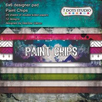 7 Dots Studio - Paint chips - Designer Pad