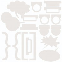 7 Dots Studio - Writer's Block - Chipboard