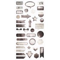 7 Dots Studio - Writer's Block - Die-cut Elements