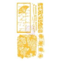 Prima - Rub-Ons - Poppy Floral Script