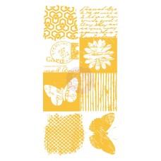 Prima - Rub-Ons - Postmark & Butterflies