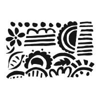 7 Dots Studio - Fortune-teller - Doodles Stencil