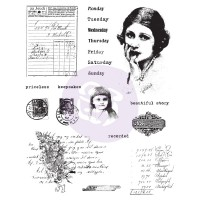 Prima - Cling Stamps - Beautiful Story
