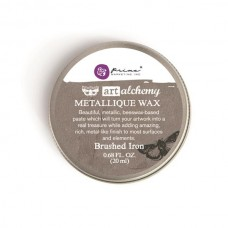 Prima - Art Alchemy - Metallique Wax - Brushed Iron