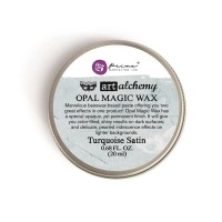 Prima - Art Alchemy - Opal Magic Wax - Turquoise Satin