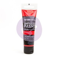 Prima - Art Alchemy - Impasto Paint - Poppy Red