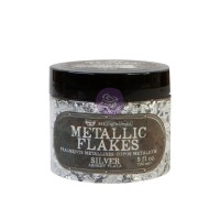 Prima - Art Ingredients - Metallic Flakes - Silver