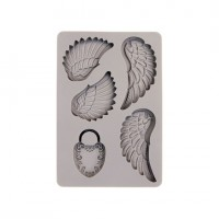 Prima - Decor Mould - Wings and Locket