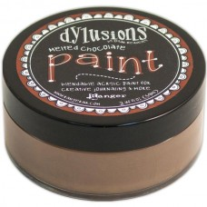Ranger - Dylusions Paint - Melted Chocolate