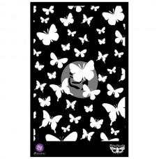 """Prima - Elementals - 6,5x10,25 Stencil """"Butterflies"""""""