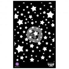 "Prima - Elementals - 6,5x10,25 Stencil ""Stars"""