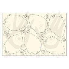 3rd Eye - Anatomical Hearts chipboard