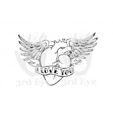 3rd Eye - I Love You Small Tattoo